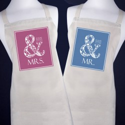 Happily Married Apron Personalised