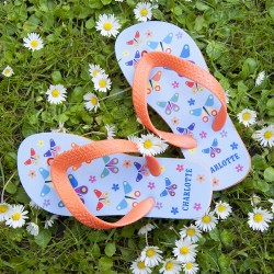 Child's Personalised Flip Flops