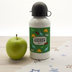 Cool Jurassic Personalised Water Bottle