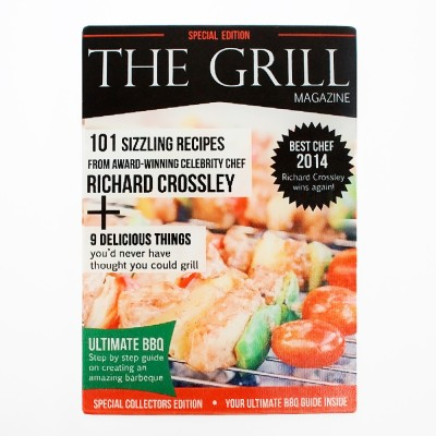 The Grill Magazine Personalised Glass Chopping Board