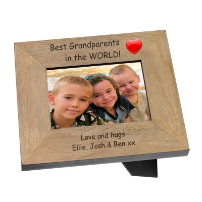 Best Grandparents in the World Photo Frame 7x5