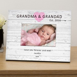 Grandma & Grandad Est...personalised photo frame