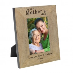 Happy Mother's day Wood Frame 7x5