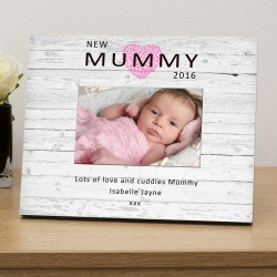 New Mummy personalised photo frame
