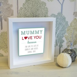 Shadow Frame with 3D Metal Artwork