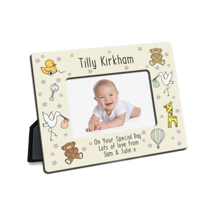 Nursery Scene Photo Frame