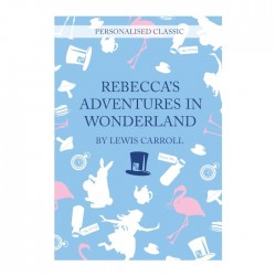 Alice in Wonderland Novel Personalised