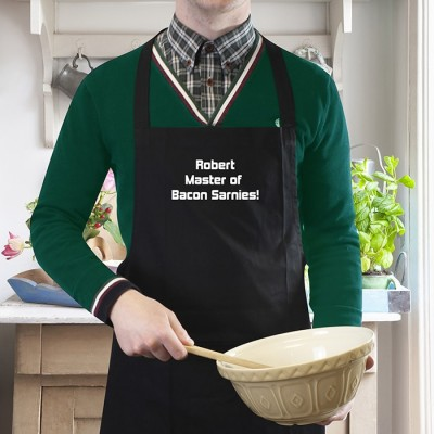 Black Apron Personalised