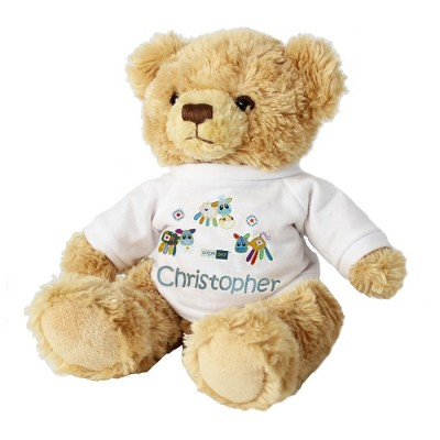 Cotton Zoo Farmyard Teddy Personalised