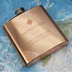 Dadventurer Hip Flask