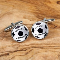 Football Cufflinks Personalised
