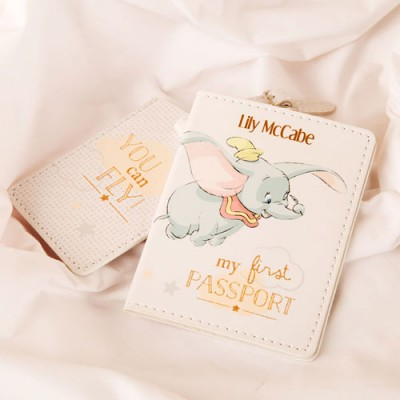 My First Passport Holder and Luggage Tag Set