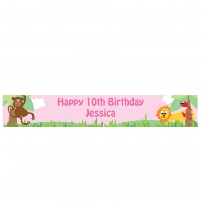 Personalised Animal Banner