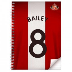Personalised Sunderland A5 Notebook