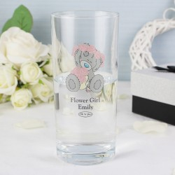 Personalised Me To You Wedding Hi Ball Glass
