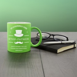 An Astoundingly Good Step-Father Matte Coloured Mug
