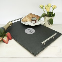 Breakfast In Bed Slate Tray