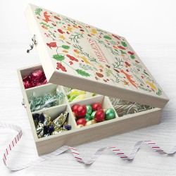 Festive Woodland Christmas Treat Box