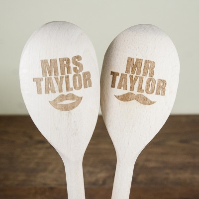 Mr and Mrs Wooden Spoons
