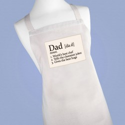 Personalised Chef's Apron