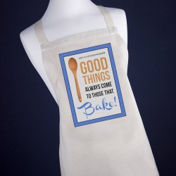 Personalised Good Things Apron