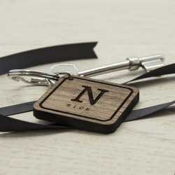 Initial and Name Keyring