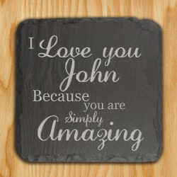 You are Simply Amazing Slate Keepsake