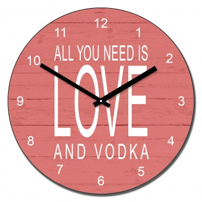 All you need is love and.....wall clock