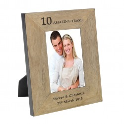 Amazing Years Wood Frame 7x5