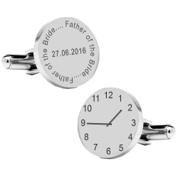 Father of the Bride..special time cufflinks