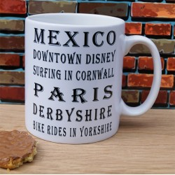 Favourite Places Mug