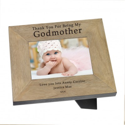 Godmother Frame 6x4 - Happiness is a Gift