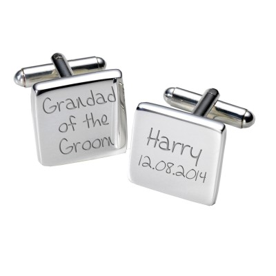 Grandad of the Groom Cufflinks