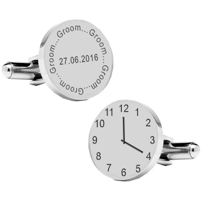 Groom..special time cufflinks
