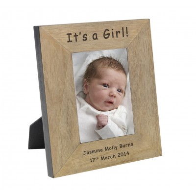 Its a Girl! Frame 7x5