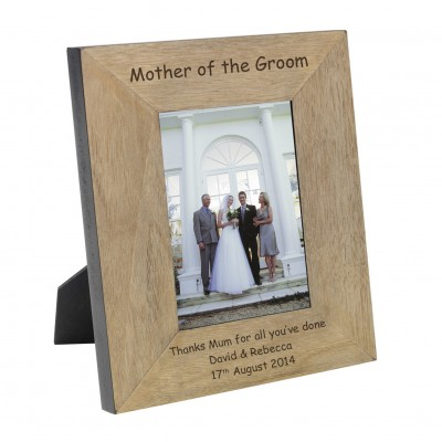 Mother of the Groom Wood Photo Frame 7x5