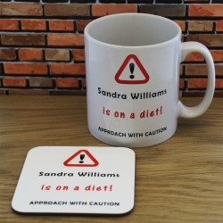 Mug and Coaster Set - Diet