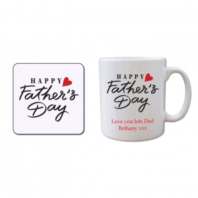 Mug and Coaster Set - Fathers Day