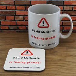 Mug and Coaster Set-Grumpy