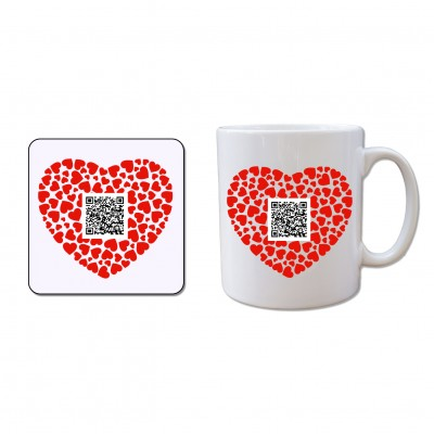 Mug and Coaster Set - Secret Message