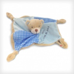 28cm Blue Bear Baby's First Blanket/Comforter