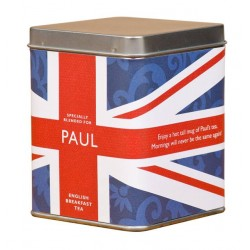 Tea Bags In Tin Union Jack Design