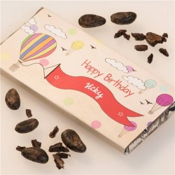 Personalised Childs Birthday Girl Chocolate Bar