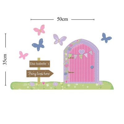 A Magical Doorway Wall Art Personalised