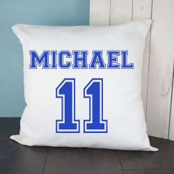 Personalised Football Kit Cushion Cover