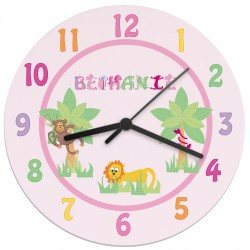 Personalised Girls Clock