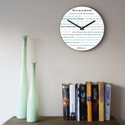 Grandad I love you Wall Clock