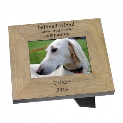beloved friend Wood Frame 6x4