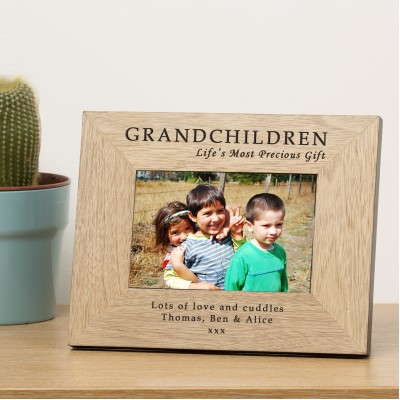 GRANDCHILDREN Frame 6x4